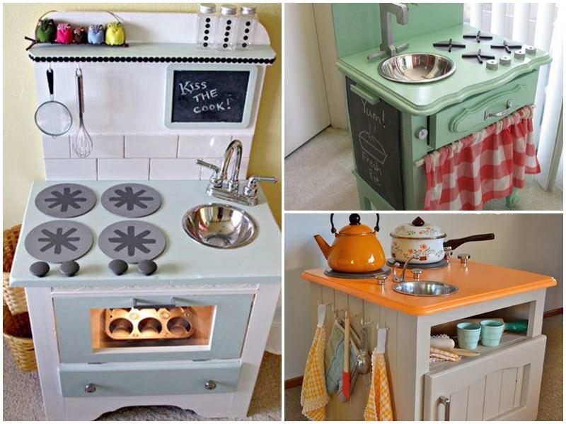 Chwytając chwile pl Drewniana kuchnia dla Malucha -> Drewniany Kuchnia Dla Dzieci Zrób Sam