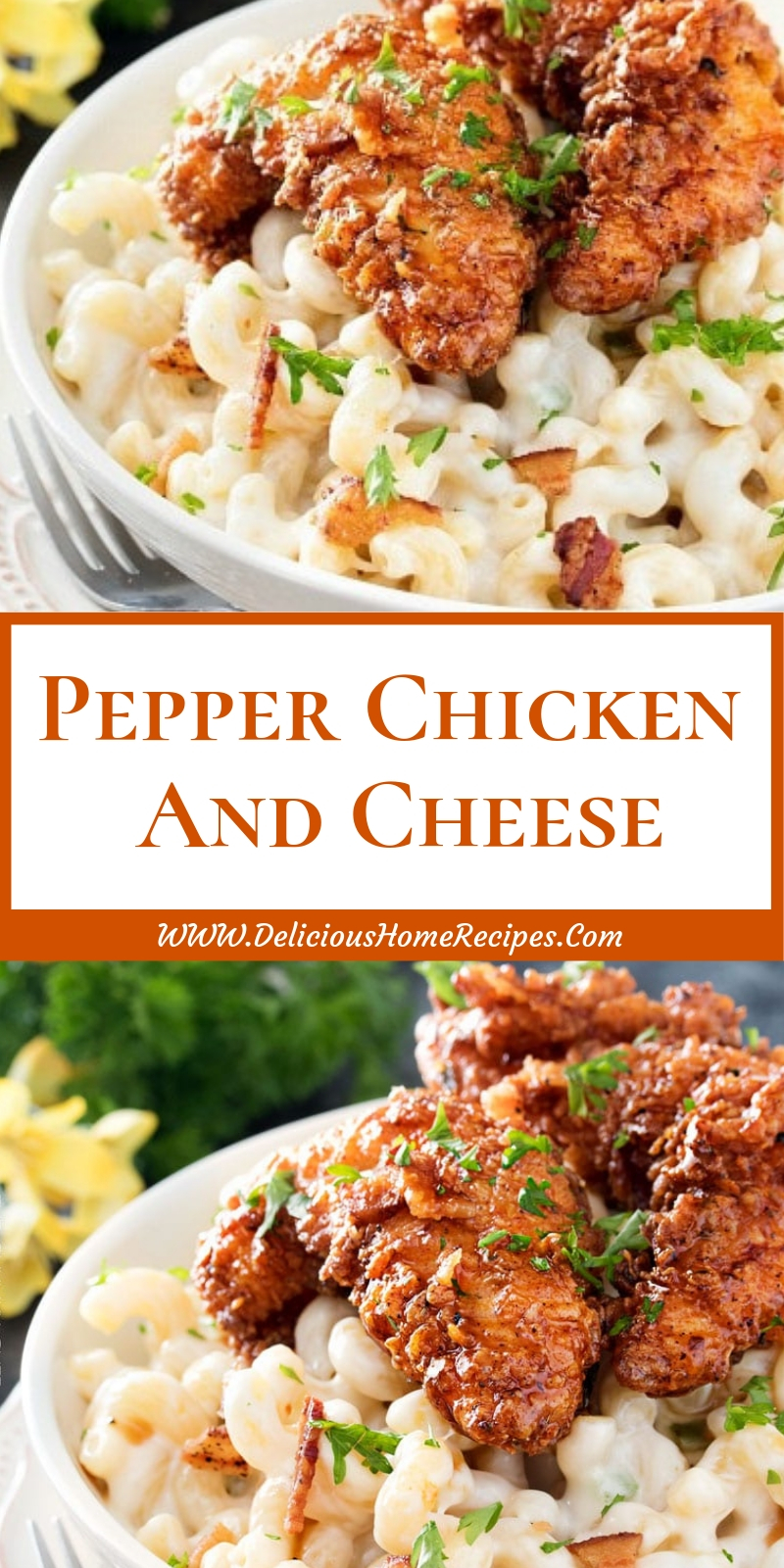 Pepper Chicken And Cheese