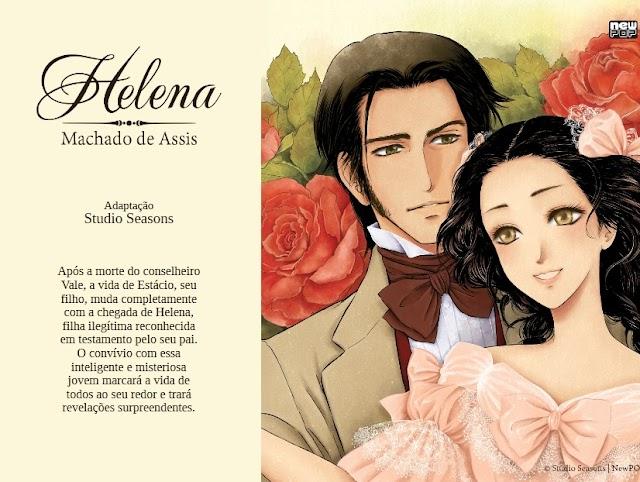 Resenha de Helena em mangá – Studio Seasons