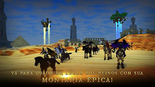 3D MMO Villagers & Heroes APK Testando Jogos Android