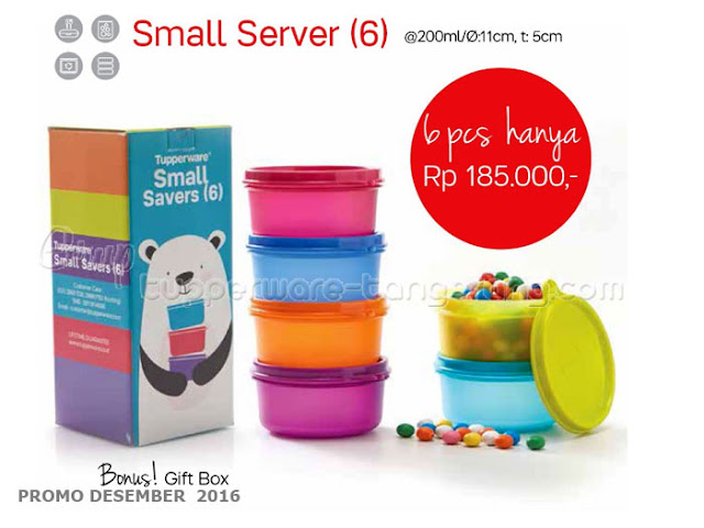 Small Server Promo Tupperware Desember 2016