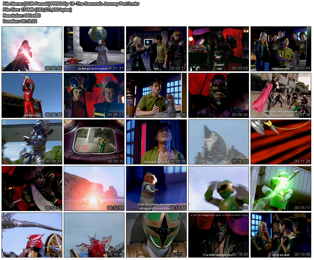 Power rangers ninja storm episode 4 part 1 / Screenrush trailers