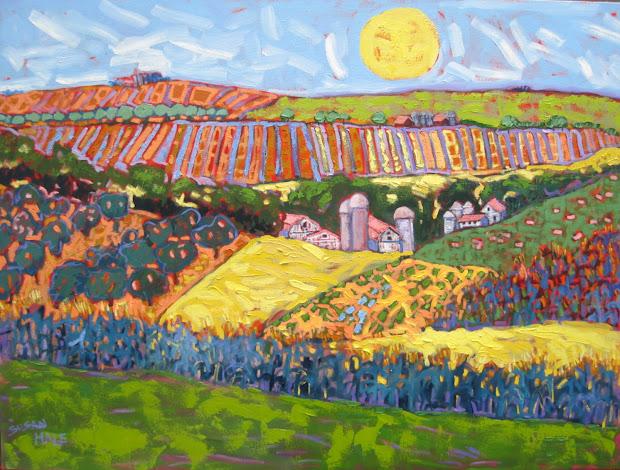 Susan Hale Landscape Paintings Plymouth Art Show