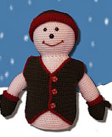 http://www.ravelry.com/patterns/library/snowman-crochet-doll