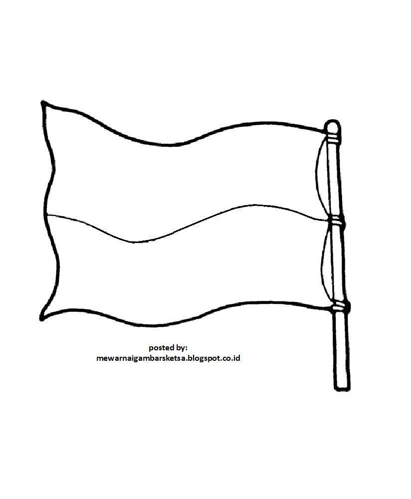 dasar gambar bendera itu mungkin bisa dimaklumi warna putih adalah warna kertas itu sendiri Dan mudah mudahan warna kertasnya adalah putih