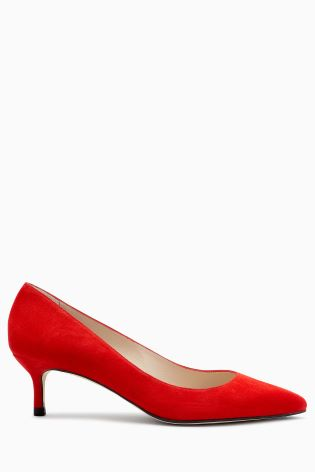 L K Bennett audrey red court shoes