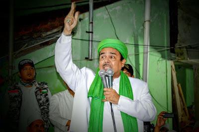 Ahok Belum Diperiksa, Habib Rizieq: Kalau Anda Mau Aman Walau Melanggar Hukum Jadilah Teman Presiden
