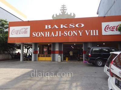 kedai bakso Son Haji - Sony VIII