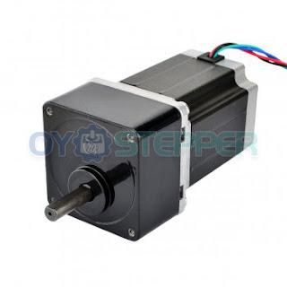 Nema 23 Stepper Motor Bipolar L=76mm w/ Gear Ratio 30:1 Spur Gearbox