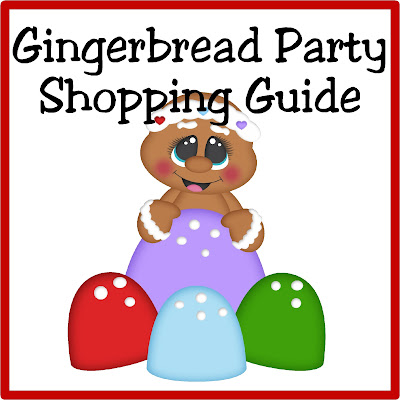 Decorate, plan, and party like the most amazing party planners with this Gingerbread party shopping guide.  You'll find everything you need to make your party amazing.