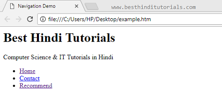 HTML-5-nav-tag-example-in-Hindi