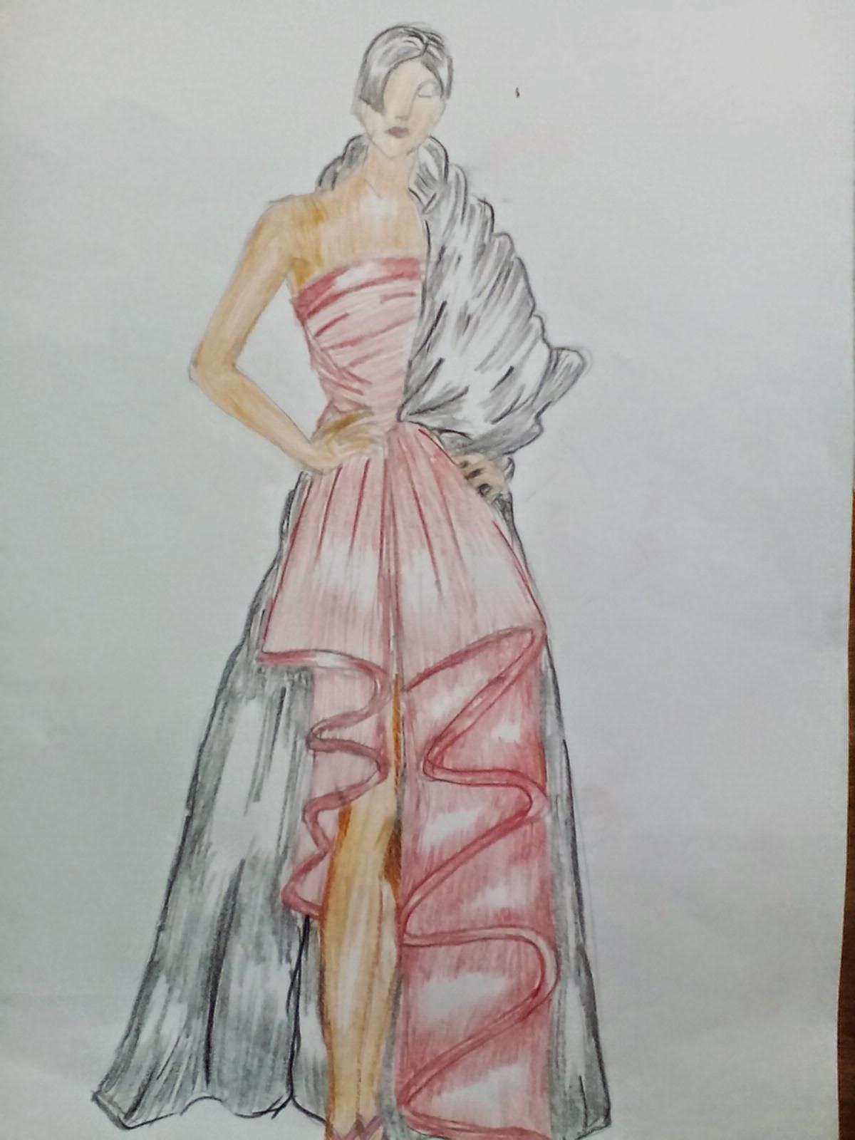 68 Gambar Sketsa Baju Gaun Terlengkap Duniasket