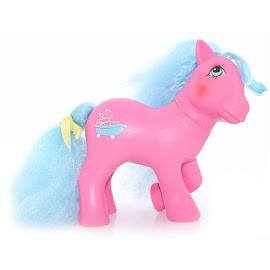 My Little Pony Sweet Suds Year Seven Perfume Puff Ponies G1 Pony