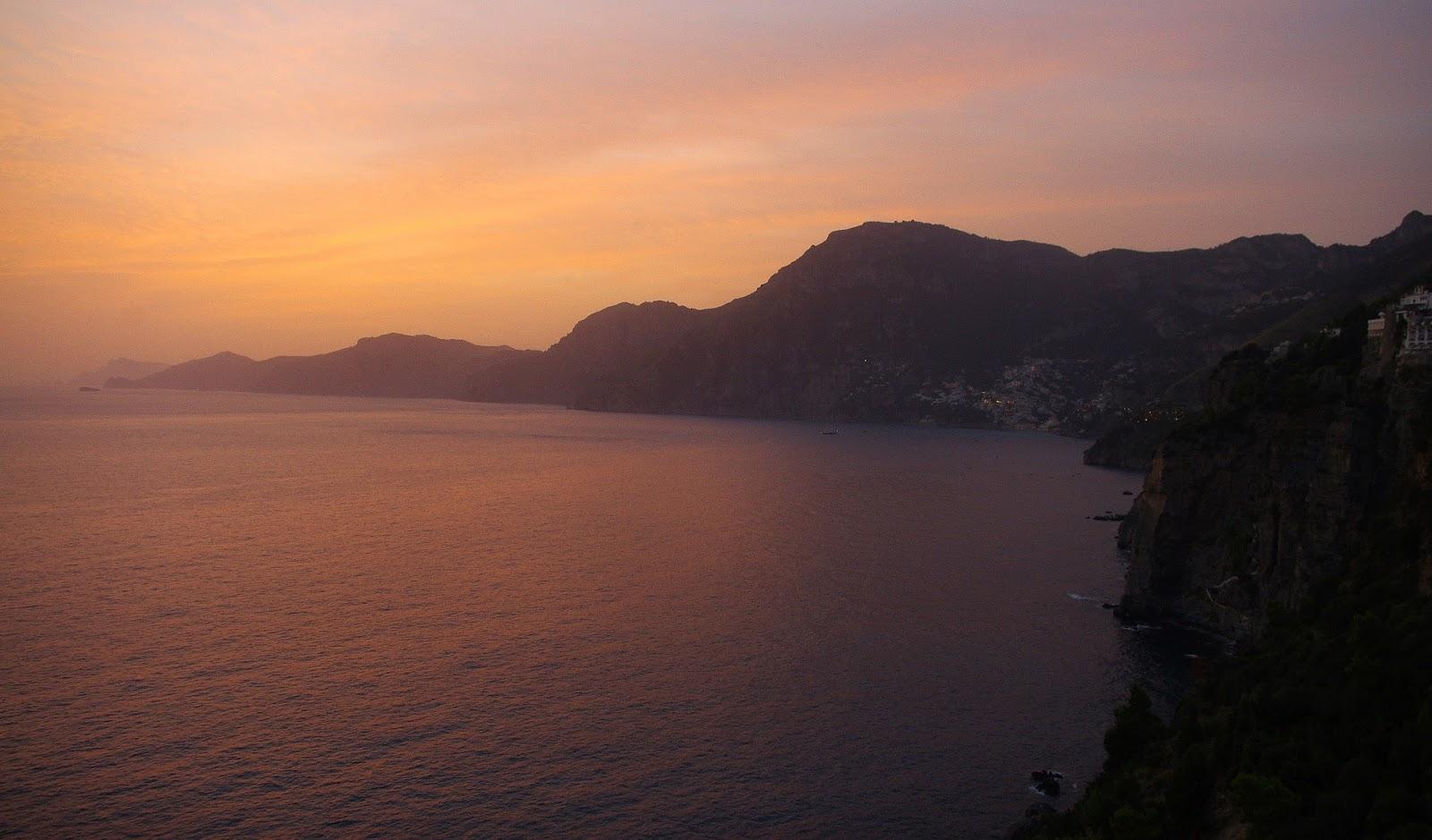 Amalfi Coast Sunset Praiano