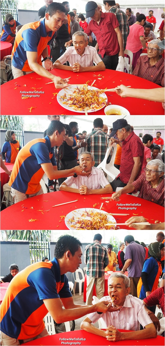 Heart-warming to see the HyppTV delegates helping to feed the residents