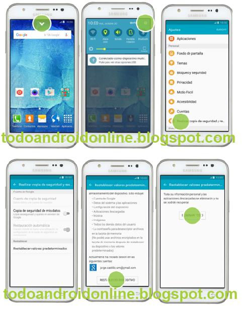 Hard Reset: Samsung Galaxy J5