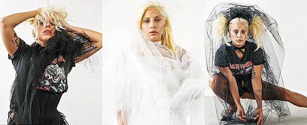 Lady Gaga on the pages of the seventh issue of CR Fashion Book 3