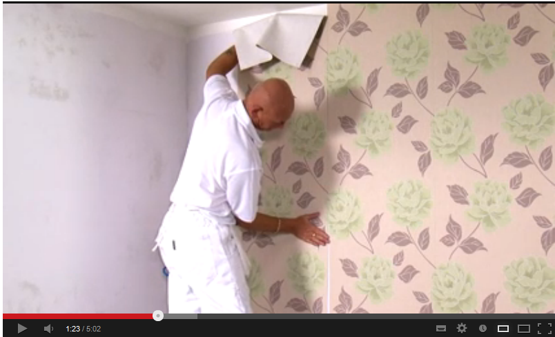 Cara memasang wallpaper dinding sendiri di rumah plafon - Cara pasang wallpaper ...