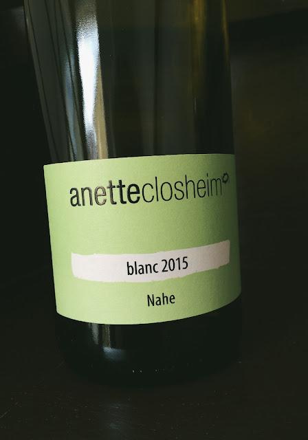 Der Wein blanc vom Weingut Closheim an der Nahe