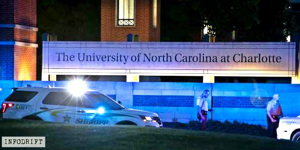 USA news: bloodshed at Charlotte's North Carolina University campus... took lives of 2, injured 4