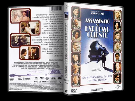 Capa DVD Assassinato no Expresso Oriente