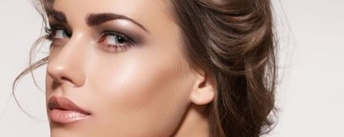 maquillaje natural con efecto glow