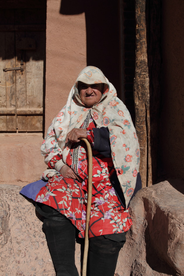 Colorful attire of Abyaneh Women