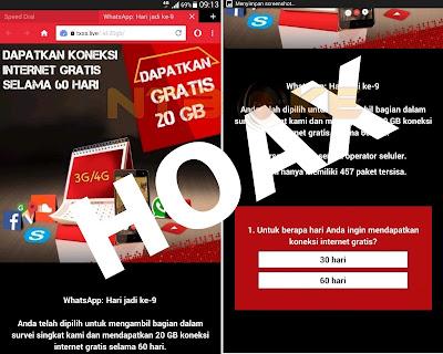 Korban Gempa Lombok Diserang Berita Hoax Internet Gratis 20GB