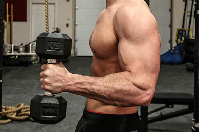 Tập tạ nhẹ nhiều reps để siết cơ ?