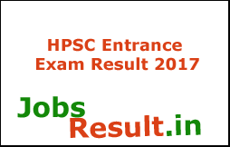 HPSC Entrance Exam Result 2017