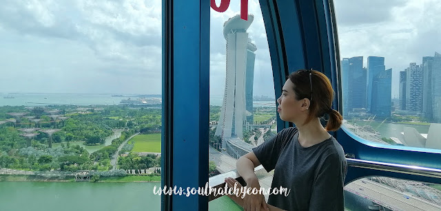Hyeon's Travel Journal; Singapore Flyer