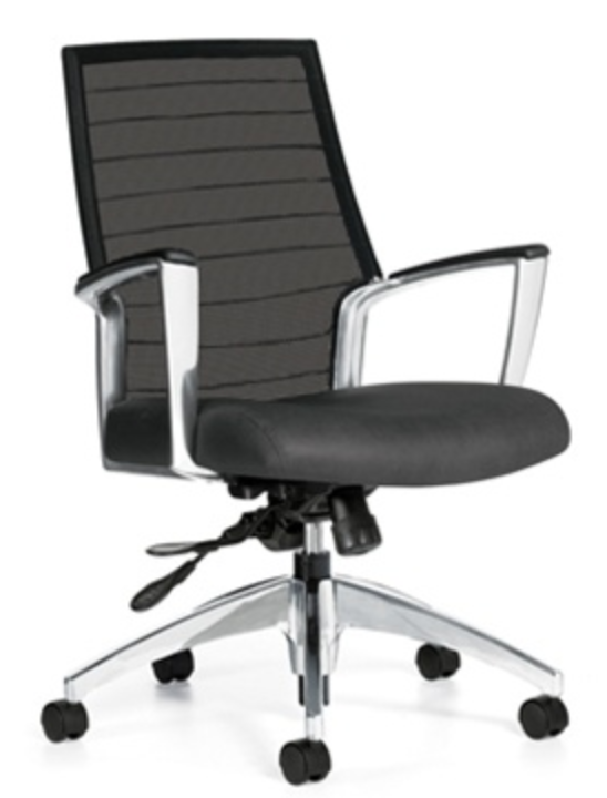 Global Accord Medium Back Mesh Chair