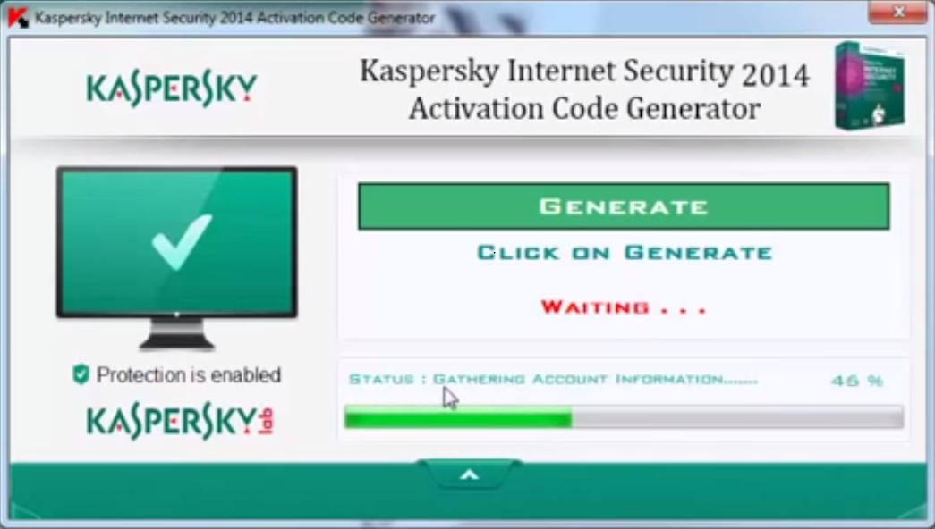 Kaspersky anti virus 2017 keygen