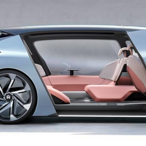 Tinuku NIO EVE is autonomous electric car as lounge mobile and artificial intelligence engine go production in 2020