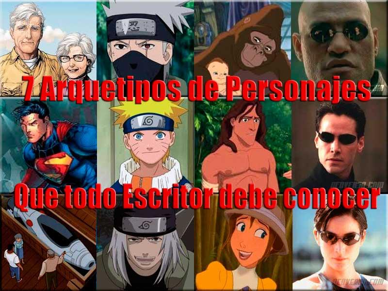 personajes que todo escritor debe conocer