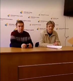 Олег Дядюн и Олександр Мошнягул
