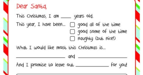 How to Write a Letter to Santa Claus - Tips, Format, Mailbox Merry