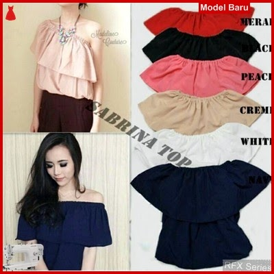 RFX017 MODEL SABRINA TOP ATASAN FIT L BAHAN TWISKON MURAH ONLINE