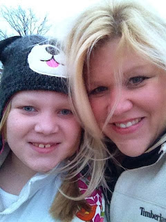 Ellie and Me in the winter time :)