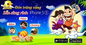 Sự kiện iOnline Đón trăng vàng nhận iPhone5S