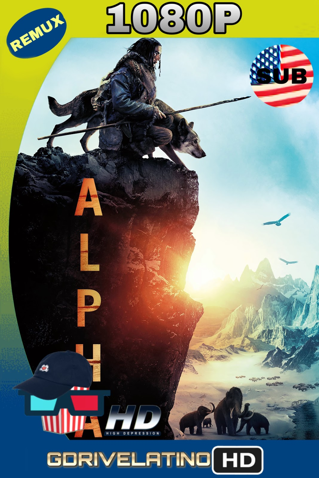 Alpha 2018 Ingles-SUBTITULADO BD-Remux 1080p HD MKV