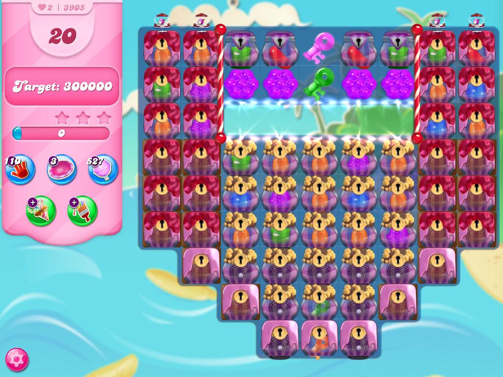 Candy Crush Saga level 3905