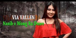Lirik Lagu Nasibe Wong Ra Duwe - Via Vallen