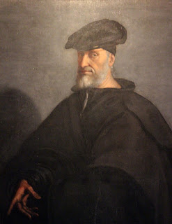 Andrea Doria's portrait was painted by Sebastiano del Piombo in around 1526
