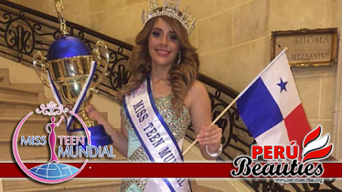 Panamá es elegida Miss Teen Mundial 2016