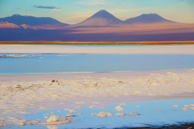 O Likankabur e as cores perfeitas - Laguna Tebinquiche