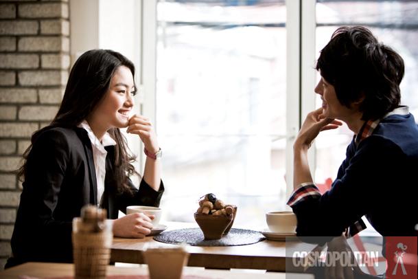 Blind dating korean man