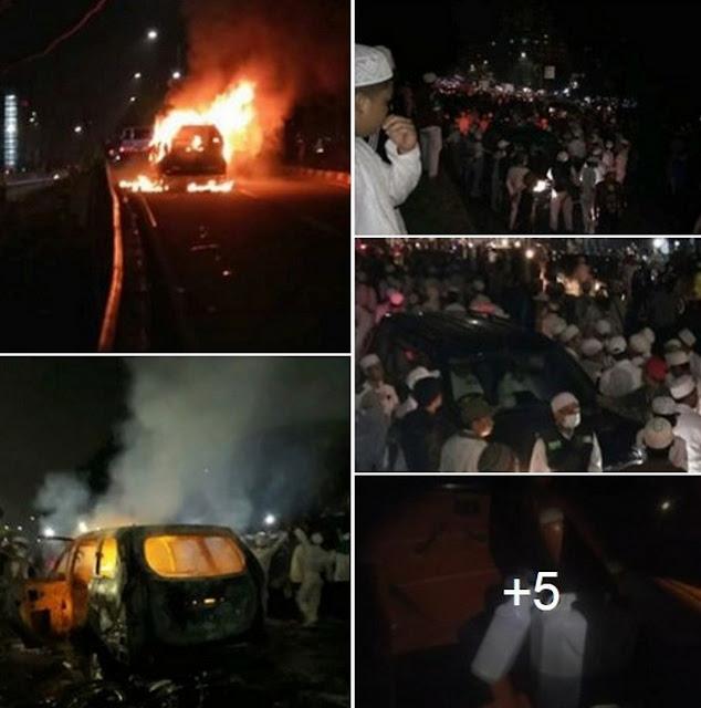 Teror Kepada Umat Islam Menjelang Pilgub DKI, LEDAKAN MOBIL UNTUK HABIB RIZIEQ???