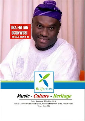 Ile-Ife Fiesta now to hang on May 28th, 2016..
