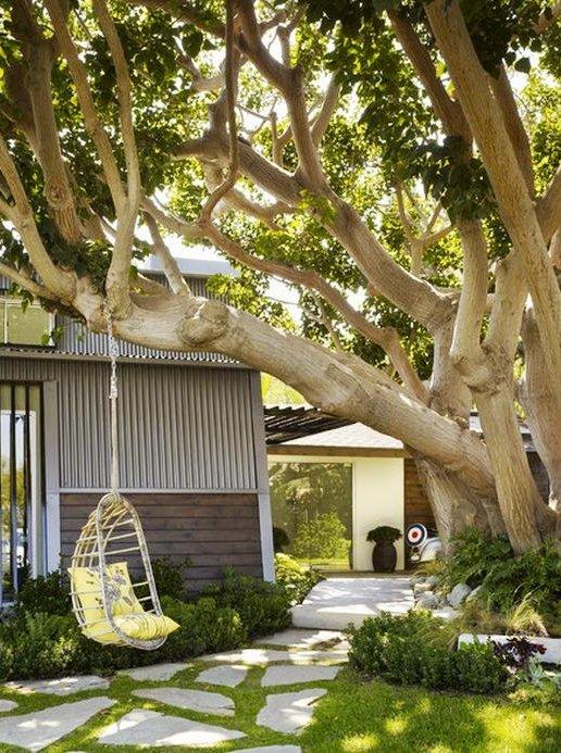 Hamacas colgantes para jardin decorar tu casa es - Hamaca de jardin ...